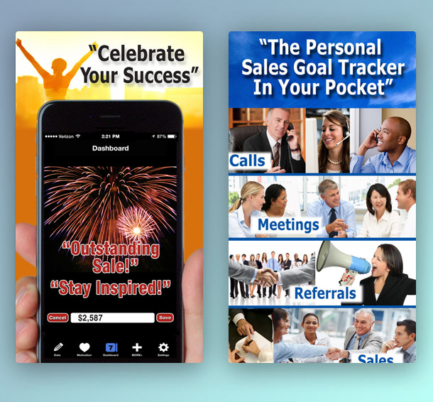 Easy Sales Goal Tracking